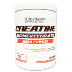 ENERGY PHARM Creatine Monohydrate Mega Powder 500 g