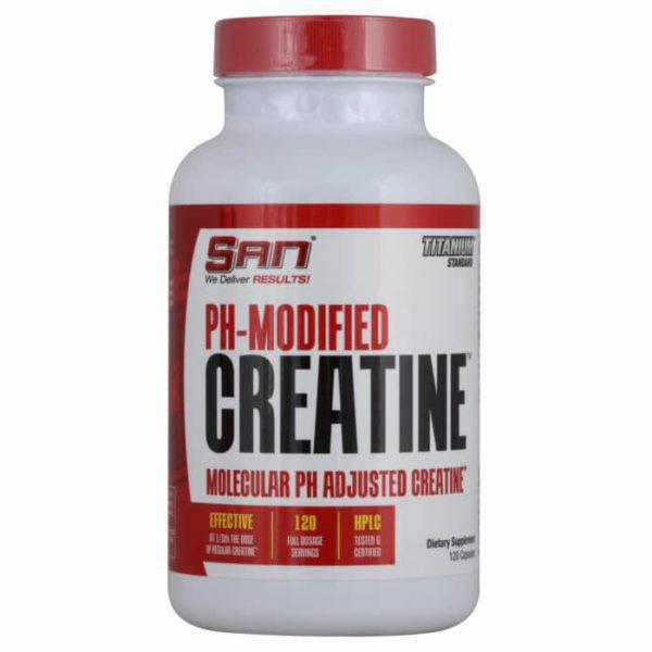 SAN PH-Modified Creatine (120 caps)